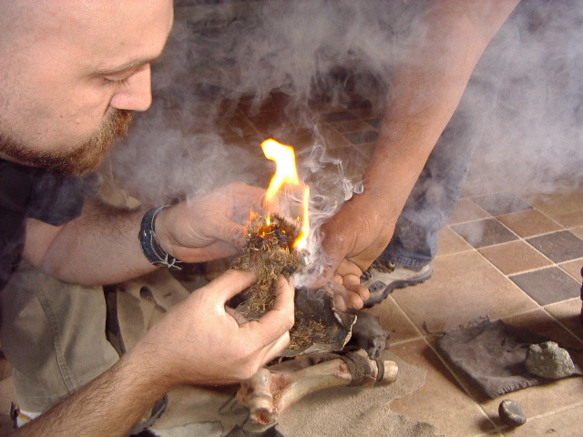 Fuoco primitivo (bushcraft skills)