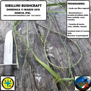Sibillini Bushcraft @ Norcia