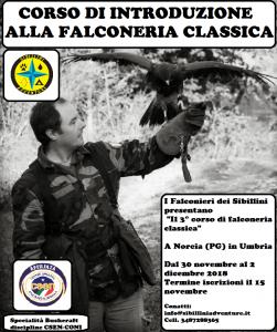 Corso di Falconeria classica @ Sibillini Adventure | Umbria | Italia