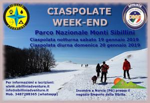 Ciaspolate week-end con Sibillini Adventure @ Castelluccio di Norcia | Norcia | Umbria | Italia